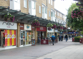 Daventry town centre