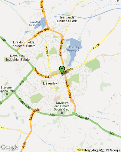 Daventry District Council - Google Map