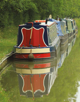 Daventry District canal scene