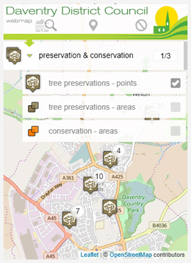 mapping preservation