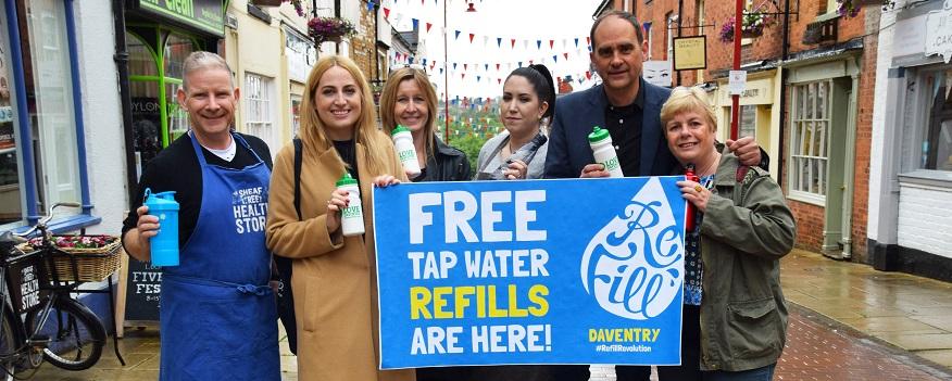 Daventry District Council - District refill scheme set to